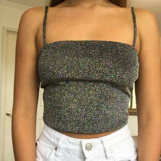 Festival Sparkly Top Size Xs