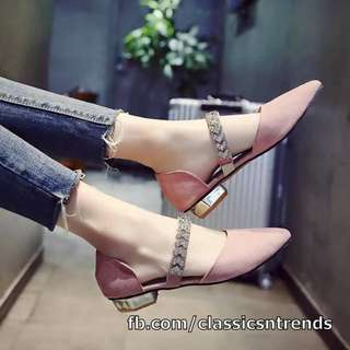 MUST HAVE! Stylish Flats (PINK)