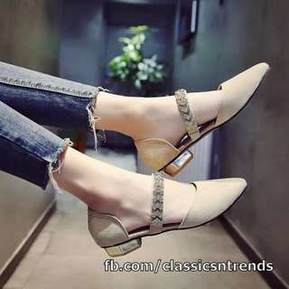 MUST HAVE! Stylish Flats (NUDE)