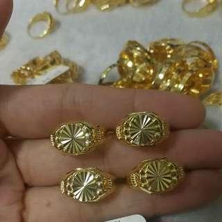 18K Saudi Gold Ring🎀EACH🎀