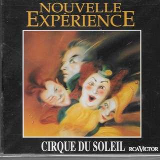 CD ALBUM - NOUVELLE EXPERIENCE - CIRQUE DU SOLEIL