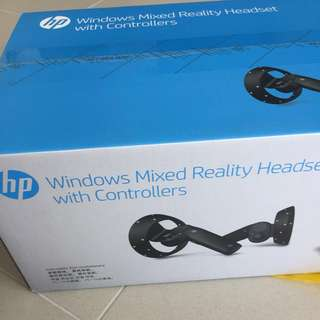 NEW VR HEADSET + CONTROLLERS