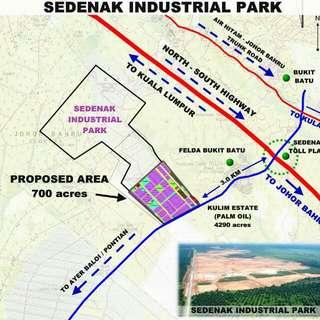 ! Urgent ! 6 Acres Agriculture Land Hulu Sanglang, Kulai, Johor
