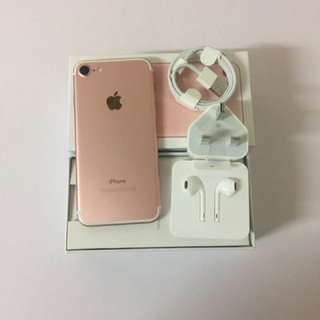Iphone7 128G rose gold