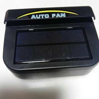 Solar cooling auto car fan (1w) ex stock