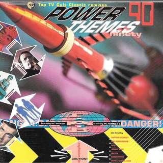 CD ALBUM - POWER 90 THEMES TSD 2430  /// BOX K ///