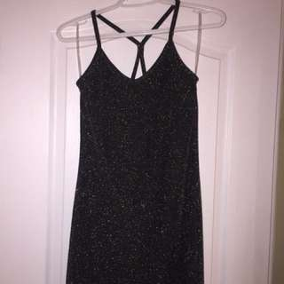 Bodycon Glitter Dress Size S