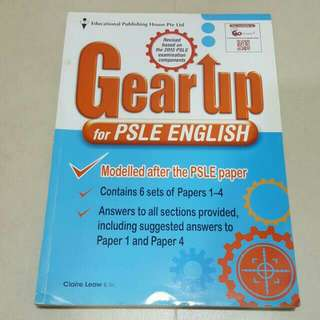 FREE NM📬Gear Up For PSLE English Assessment Book