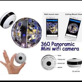 Brand New Mini 360 Fisheye Panoramic IP Wifi Security CCTV