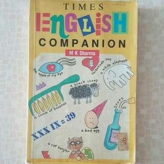 FREE NM📬Times English Companion Book