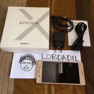 Sony Xperia X Pink Fullset
