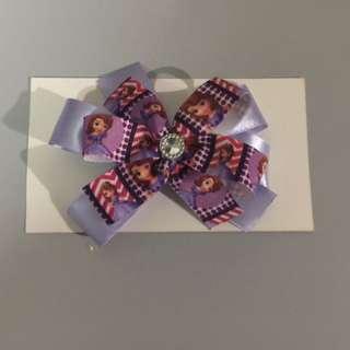 pinwheel hair bow