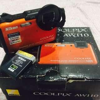 Nikon Coolpix AW110 Waterproof Camera