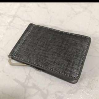 Christmas: Trending Money Clip Wallet - Grey/Silver