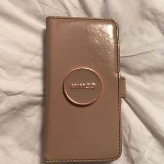 Mimco iPhone 7 flip wallet phone case