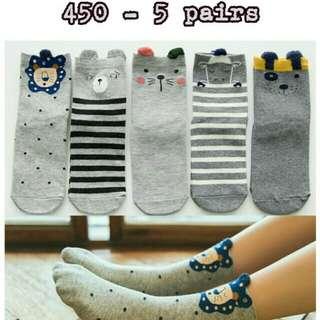 Cute tube socks