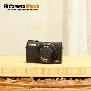 Canon G7X 100% Like New