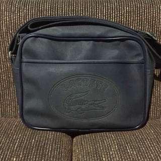 Authentic lacoste camera bag