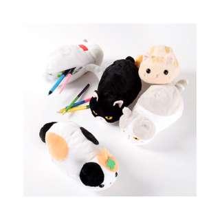 Tsuchineko Shiawase Kagi Shippo Cat Pencil Case