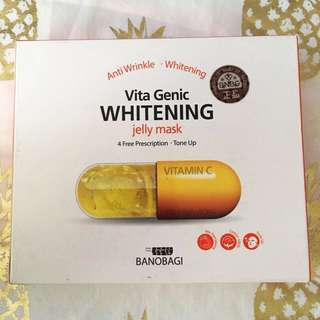 10pc pack Vita Genic Whitening Jelly Mask