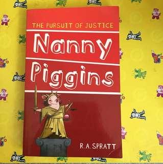 Nanny Piggins the Pursuit of Justice Book