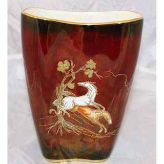 Crown Devon Pegasus Vase