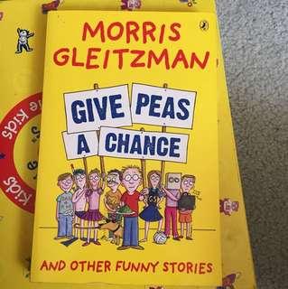 Morris Gleitzman Give Peas A Chance Book
