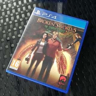 Broken Sword 5 - The Serpent's Curse for PS4