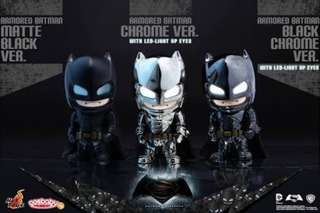 Hottoys Cosbaby Batman vs Superman