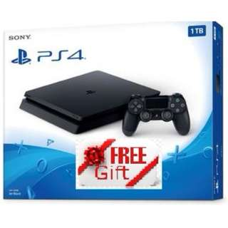 Free Gift - PlayStation 4 1TB Console - Brand New In Box