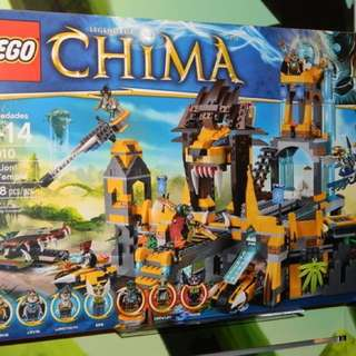 Lego Chima lion Temple