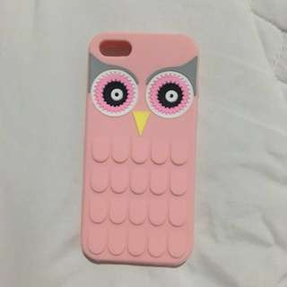 IPHONE 5/5s/SE OWL PINK CASE