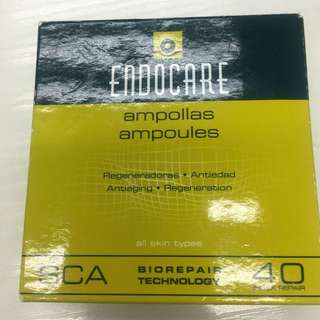 Endocare強效活肌修復精華 Ampoules SCA40