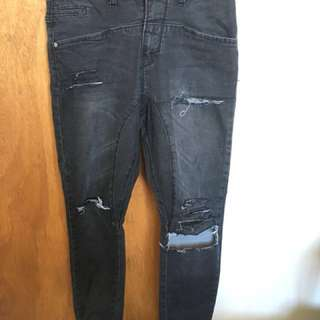 Hallensteins Custom Ripped Denim