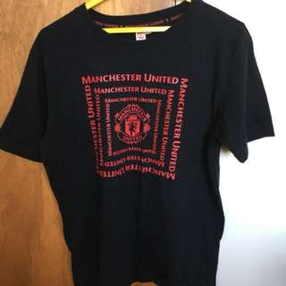 Man United & Warriors tee and singlet