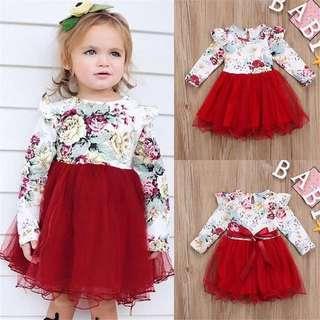 Baby Girl Flower Tutu Dress