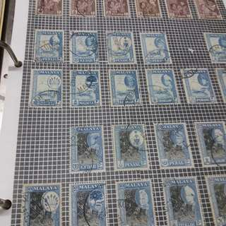 Collection of old and new Stamps