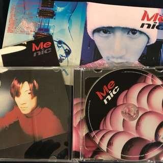 謝霆鋒 Nicholas Tse Me nice CD + VCD