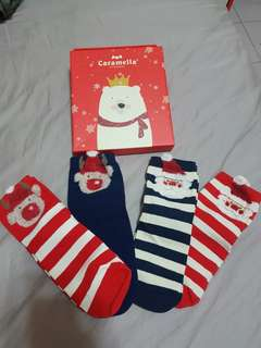 可愛聖誕襪