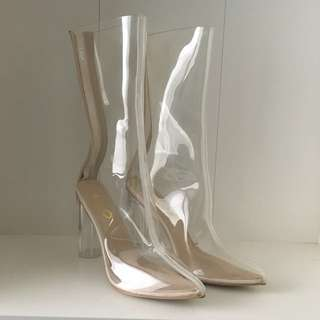 EGO Official Perspex Boots Size 8