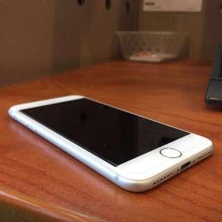 Unlocked Silver IPhone 7 128 gb