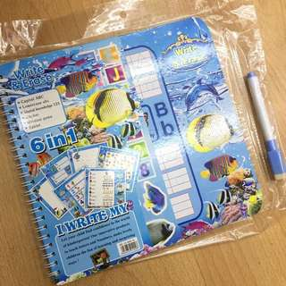 Whiteboard activity book