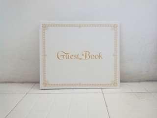 Guest Book / Buku tamu