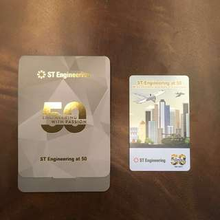 [Limited Edition] ST Engineering at 50 ezlink Card