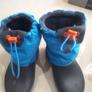 Pre loved Crocs winter boots