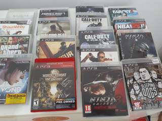 PS 3 Games SONY PS3