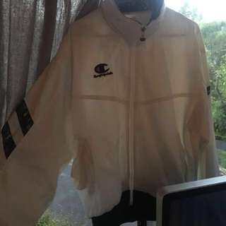 Retro champion wind breaker