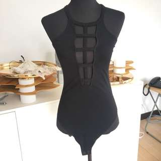 express cage bodysuit small