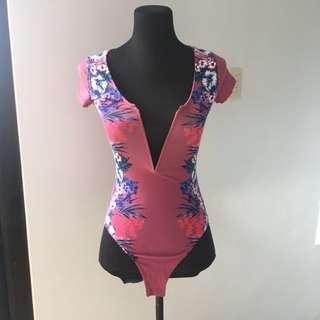 express deep cutout bodysuit