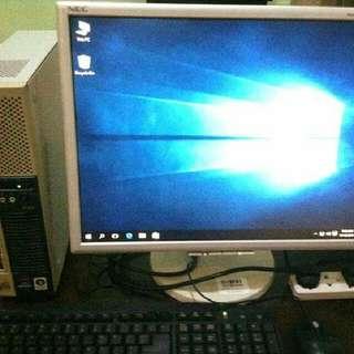 NEC Core i5 Desktop PC Set